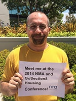 NMA regional account manager James Misner will be attending this year's NMA Housing Conference