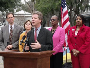 HUD Secretary Shaun Donovan announces RAD implementation at the Housing Authority of Savannah, January 2013