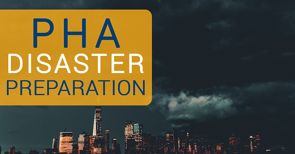 PHA Disaster Preparation