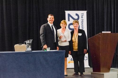 Rutland Housing Authority award winners